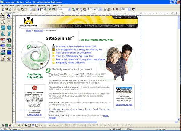 sitespinner