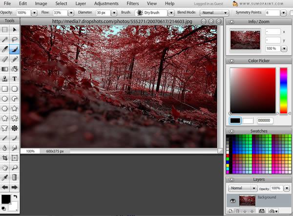 Programmi per modificare foto online 40 web applications for Effetti foto online