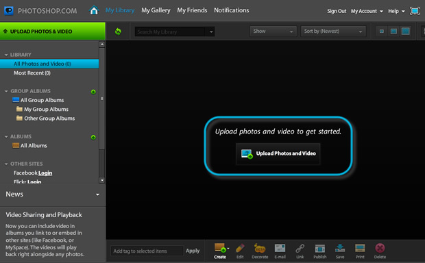 Tutorial Photoshop Online comandi