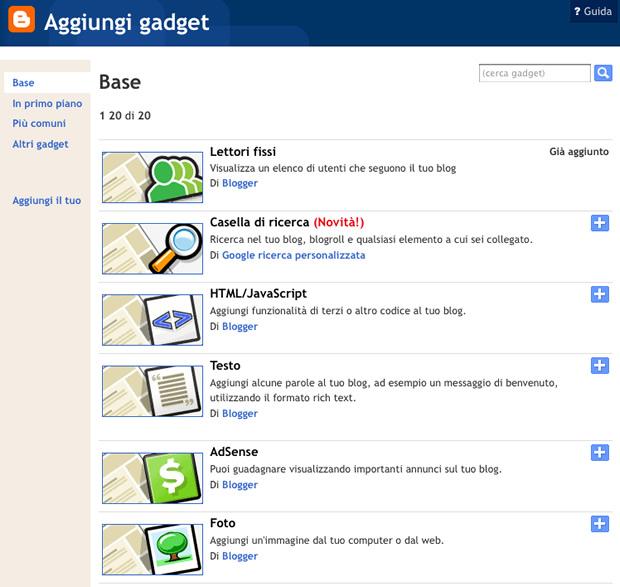 come_fare_un_blog gadget_1