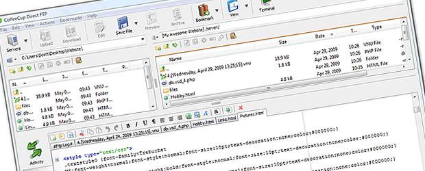 softwareFTP_coffecupdirectftp