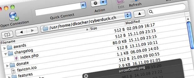 Cyberduck resume download