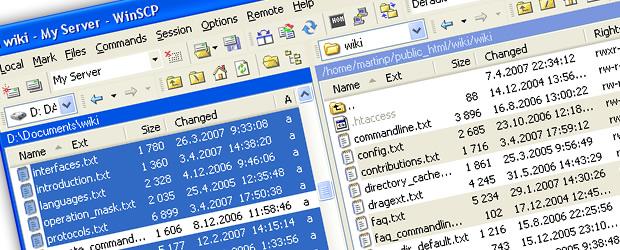 softwareFTP_winscp