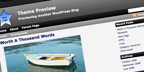 tema per wordpress