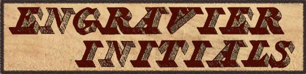 font-retro-engravier-initials