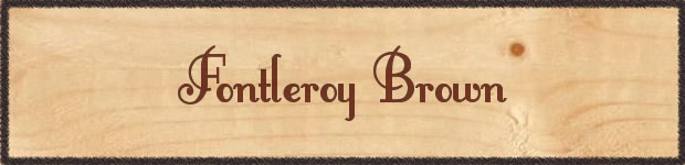 font-retro-fontleroy-brown