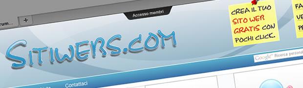 sitiweb gratis