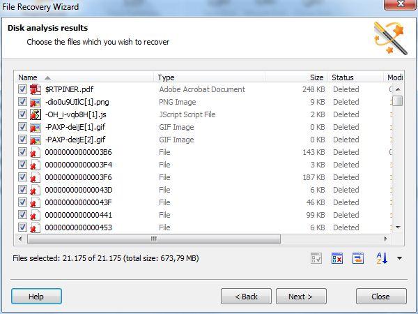 recupero dati pen drive