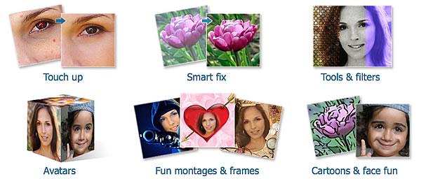 modifica di foto online