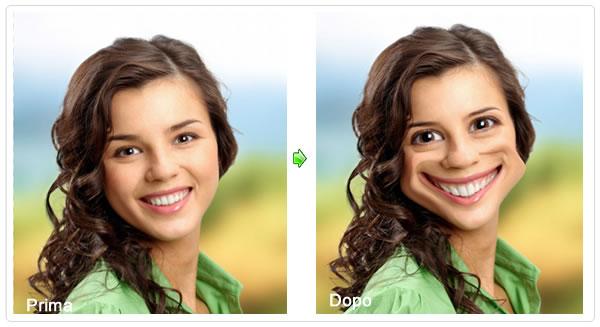 morphing volto modifica foto