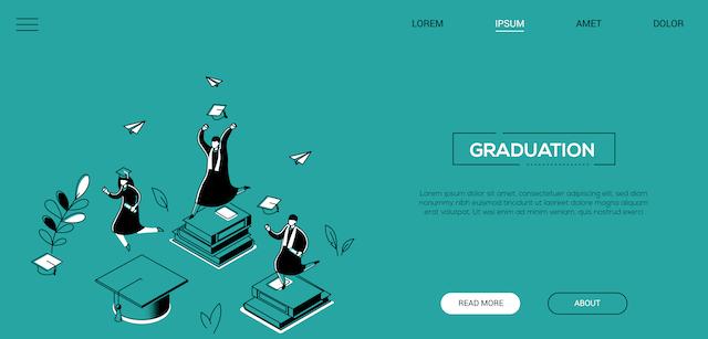 Come creare una pagina web per la tua festa di laurea